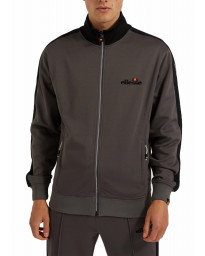 Ellesse Mens Mens Giandoso Authentic Retro Track Jacket Grey | Jean Scene