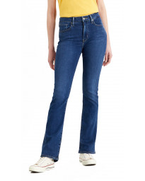 Levis 725 Women's High Rise Bootcut Stretch Jeans Rio Bogota Tricks | Jean Scene