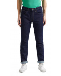 Lee Brooklyn Stretch Regular Rinse Blue Denim Jeans | Jean Scene