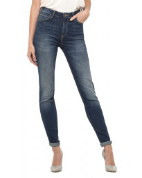 Lee Scarlett Women's Skinny Stretch Jeans High Blue Indigo | Jean Scene