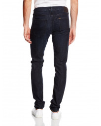 Lee Luke Slim Tapered Raven Blue Denim Jeans | Jean Scene