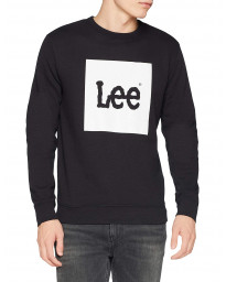Lee Logo Sweatshirt Black | Jean Scene