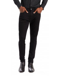 Levis 512 Denim Jeans Dark Black Nightshine | Jean Scene