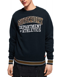 Superdry College Boxy Fit Sweatshirt Navy | Jean Scene