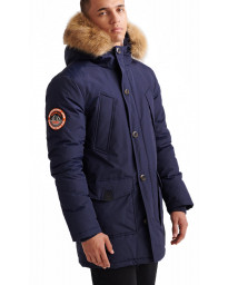 Superdry Everest Parka Jacket Nautical | Jean Scene