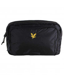 Lyle & Scott Wadded Side Bag True Black | Jean Scene