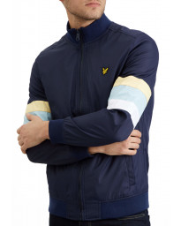 Lyle & Scott Men's Casual Track Jacket Navy | Jean Scene