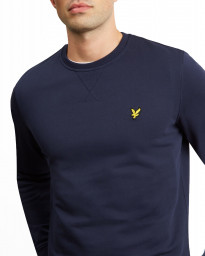 Lyle & Scott Crew Neck Sweatshirt Navy | Jean Scene