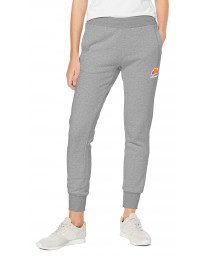 Ellesse Womens Women's Queenstown Jogging Sweat Pants Grey Marl | Jean Scene