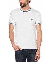 Original Penguin Crew Neck Short Sleeve T-Shirt Bright White | Jean Scene