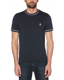 Original Penguin Crew Neck Short Sleeve T-Shirt Dark Sapphire | Jean Scene