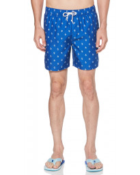 Original Penguin Men's Elastic Volley Swim Shorts Surf The Web | Jean Scene