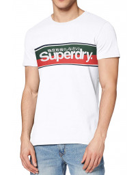 Superdry Core Men's T-Shirt Optic | Jean Scene