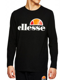 Ellesse Long Sleeve Henley Top Anthracite | Jean Scene