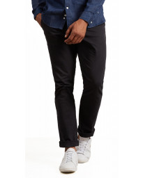 Lyle & Scott Skinny Fit Cotton Chinos Black | Jean Scene