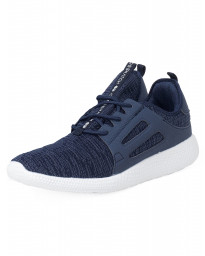 Crosshatch Mens Turbo Canvas Shoes Trainers Navy | Jean Scene
