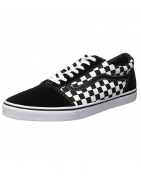 Vans Men's Ward Checkered Shoes Black | Jean Scene
