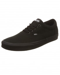 Vans Women's Doheny Canvas Shoes Black | Jean Scene