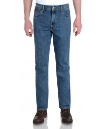 Wrangler Texas Stretch Denim Jeans Stonewash Blue | Jean Scene