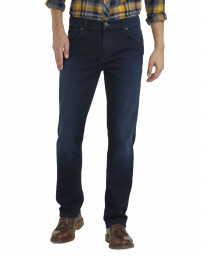 Wrangler Texas Stretch Denim Jeans Blue Stroke | Men's Wrangler Jeans | Jean Scene