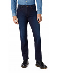 Wrangler Arizona Stretch Soft Luxe Denim Jeans Blue Stroke | Jean Scene