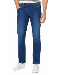 Wrangler Greensboro Modern Straight Denim Jeans Cold Burn | Jean Scene