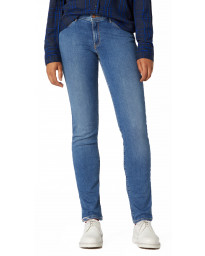 Wrangler Women's Slim Stretch Jeans Perfect Blue | Jean Scene