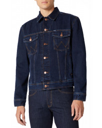 Wrangler Western Denim Jacket Blue Black | Jean Scene
