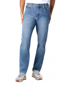 Wrangler Texas Stretch Denim Jeans Smokin Blue