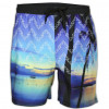 Soul Star Beach Swim Shorts Tropical Sea Surf Image