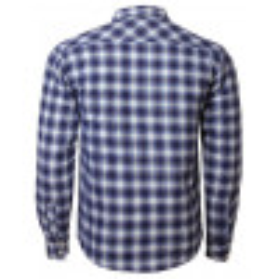 Tokyo Laundry Lined Lumberjack Check Shirt Blue