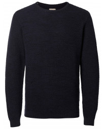 Selected Crew Neck Cotton Vince Bubble Jumper Dark Sapphire | Jean Scene