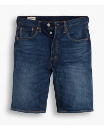 Levi's Hemmed Denim Shorts Dark Blue Roast Beef | Jean Scene