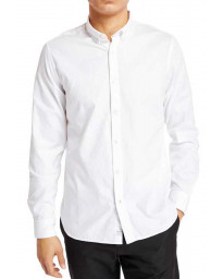 Timberland Long Sleeve Regular Logo Shirt Long Sleeve White | Jean Scene