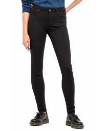Lee Scarlett Women's Skinny Stretch Jeans Black Rinse | Jean Scene