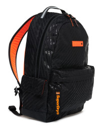 Superdry Hollow Montana Backpack Bag Black AOP | Jean Scene