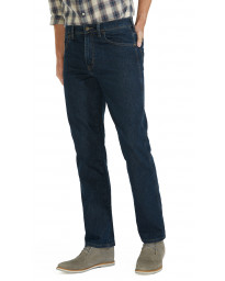 Wrangler Durable Stretch Denim Jeans Darkstone Blue | Men's Wrangler Jeans | Jean Scene