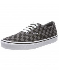 Vans Men's Doheny Checkerboard Shoes CheckerBlkPew | Jean Scene