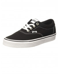 Vans Women's Doheny Canvas Shoes Black White | Jean Scene