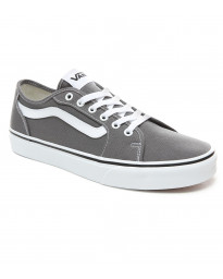Vans Men's Filmore Decon Shoes Pewter White | Jean Scene