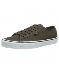 Vans Men's Ferris Leather Buck Shoes Trainers Brown | Jean Scene