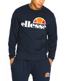 Ellesse Succiso Logo Crew Neck Sweatshirt Dress Blues