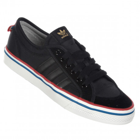 adidas Originals Nizza Lo Trainers Black Image