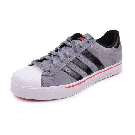adidas Bbneo Classic Lo Suede Trainers Grey Image