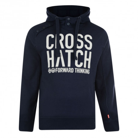 Crosshatch Playball Hoodie Iris Navy