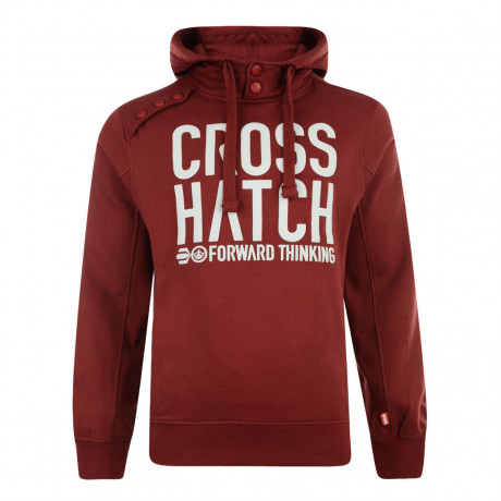 Crosshatch Playball Hoodie Sun Dried Tomato