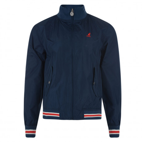 Kangol Mod Golf Jacket Navy Blue Image