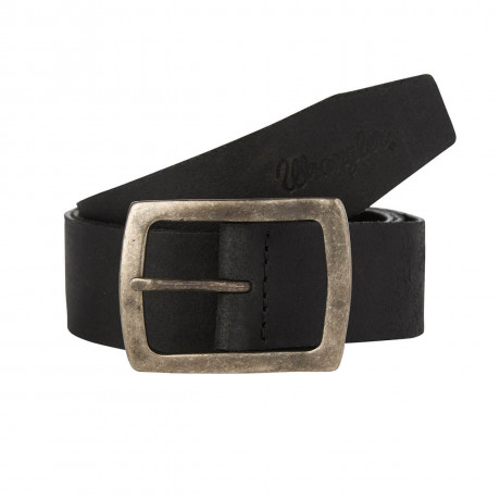 Wrangler Leather Central Bridge Buckle Belt Black Image