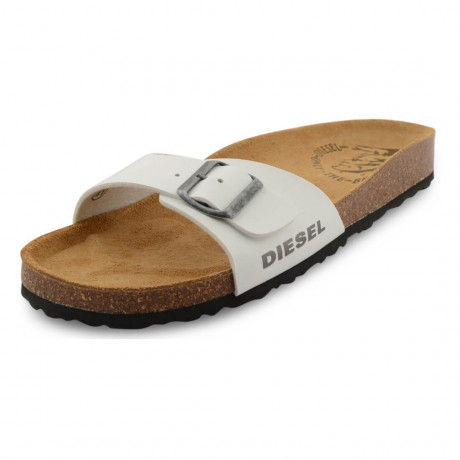 Diesel Mens Summer Beach Sandals White Image