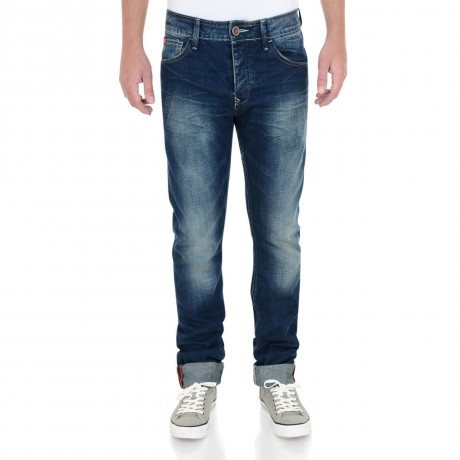 Lee Cooper Straight Fit Harry Jeans Faded Mid Wash Blue Image